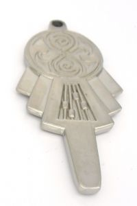 Doctor Who, SILVER TARDIS KEY Scale 1:1,  prop replica (1)